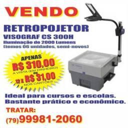 Vendo Retroprojetores Visograf, semi novo