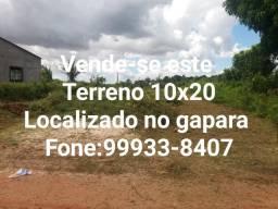 Terreno 10x20