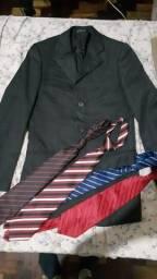 Terno apenas parte de cima + 4 Gravatas