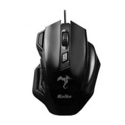Mouse Gamer Macro 2400 Dpi Usb Dragon Series Kolke Kmg100