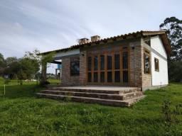 Velleda oferece 2,2 hectares, casa nova, 450 mudas pitaia, açude, aceito troca