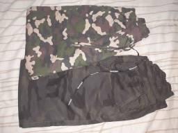 Calças estilo exército