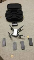 Drone tello com 4 baterias