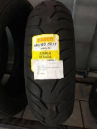 Pneu Moto 160/60 R17 Pirelli Diablo Strada