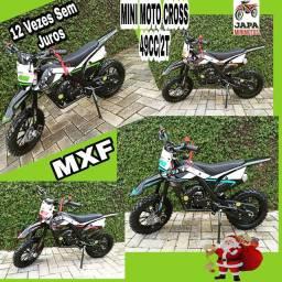 Mini Moto Cross 49CC/2T Lançamento EXTREME 12 Vezes Sem Juros