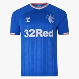 Camisa Rangers Escócia Uniforme 1 2019 2020