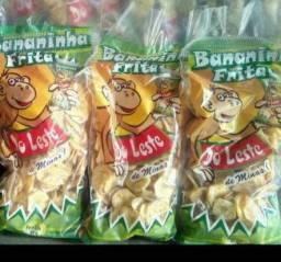 Torresminhos e Bananinhas chips