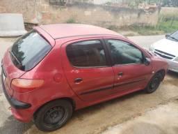 Peugeot 206 1.0 ano 2001