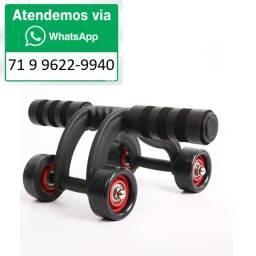 Título do anúncio: Rolo Abdominal Exercício Corporal Academia Multifuncional Roda