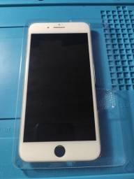 Frontal original iPhone 8 Plus Branco - LEIA A DESCRIÇÃO