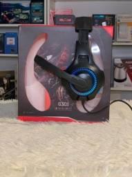 Fone Gamer Komc Usb G301 Audio E Fone