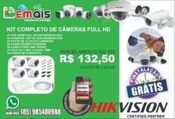 Sistema de Câmera de segurança completo em 12x