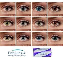 Lente de contato anual (marca Freshlook) 40 cores disponível