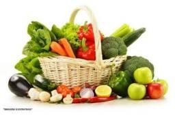 Verduras direto da lavoura