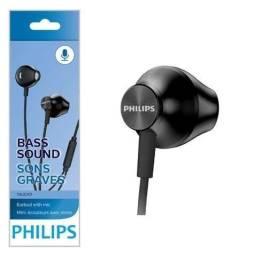 Fone de ouvido Philips TAUE101BK/00 preto