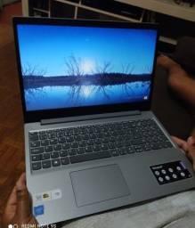 Lenovo --- 10 Meses De Uso --- Prata Escovado Lindo D+