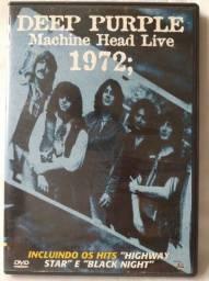 Título do anúncio: Dvd Deep Purple Machine Head Live 1972