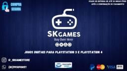 JOGOS DE PS3 E PS4 EM MÍDIA DIGITAL (PELO MELHOR PREÇO DO BRASIL)