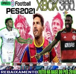 Pes2021 para Xbox 360 ( Xbox 360 travado ou destravado)