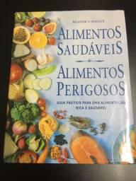 Alimentos saudáveis e alimentos perigosos