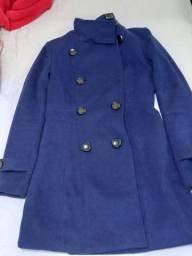 Vendo casaco Lan batida. Semi novo