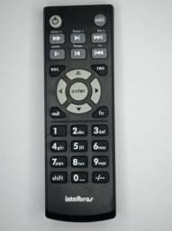Título do anúncio: controle remoto para DVR intelbras xcr 1000 (semi novo) imagem real do produto
