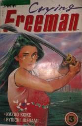 Revista em Quadrinhos - Mangá - Crying Freeman Ed. 03 - 116 pg - 1990 - Nova Sampa
