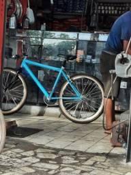 Bicicleta aro 26 nova toda no rolamento raio inox aro VMAX