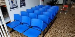 longarinas, cadeiras espera