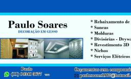 Drywall sancas revestimentos 3D