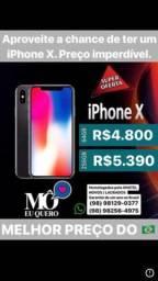 IPhone X 64 Gb Prata R$4.800,00