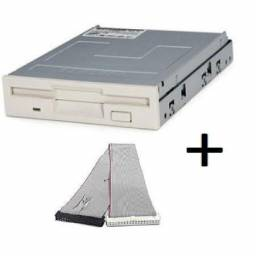 Floppy Drive Disquete + Cabo De Dados