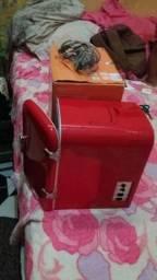 Mini geladeira e frigobar portátil