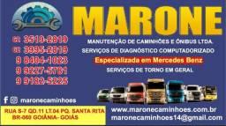 Peças para caminhões Mercedes Benz
