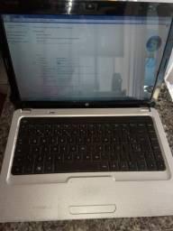 Notebook HP G42-220, HD 500Giga. 4 Giga de Memória (Aceito Cartão)