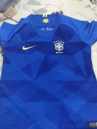Linda blusa para torcer pelo Brasil