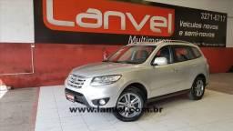 HYUNDAI SANTA FÉ 2011/2012 3.5 MPFI GLS V6 24V 285CV GASOLINA 4P AUTOMÁTICO - 2012