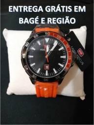 Relógio Mini Focus Original A prova de água Original Pulseira Silicone Alta Qualidade NOVO