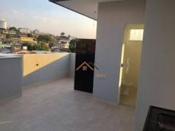 Título do anúncio: Cobertura com 3 quartos sendo 01 com suite à venda, 86 m² por R$ 359.900 - Santa Mônica -