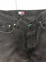 Calça jeans TOMMY JEANS PRETA tam 42