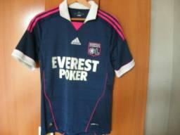 0b74aff01e Camisa Do Olympique De Lyon - Linda Camisa