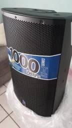 CAIXA ATIVA TURBO sound ix 15 com bluetooth e com QUALIDADE KLARKteknik. 1000 WATTS RMS