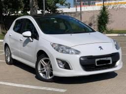 Peugeot 308 Allure 2.0 A baixo FIpe - Automático - Com teto panorâmico - Baixíssima km - 2014