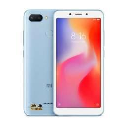 KIT Xiaomi Redmi 6 - 32 GB / 3 GB + Fone Ouvido + Película- 7 Brindes- Câmera Dupla - Mi 6