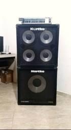Setup Hartke Completo venda ou troca com baixo Fender