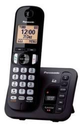 Telefone Sem Fio Panasonic Secretária Kx-tgc220lbb Preto