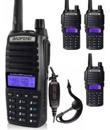 Lote 4 Rádio Comunicador Baofeng Uv-82 Dual Band Rádio Fm comprar usado  Goiânia