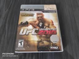 Jogo PS3 midia física UFC Undisputed 2010 comprar usado  Iracemápolis