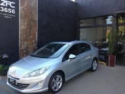 Peugeot 408 Feline 2012 Completo + Couro + Teto Solar!