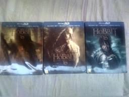 Box Blu Ray o Hobbit comprar usado  São Paulo